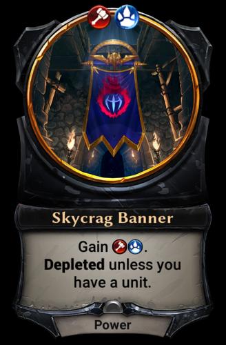 Skycrag Banner card