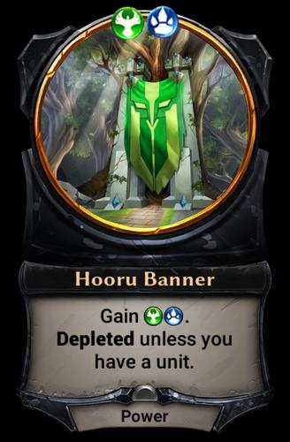 Hooru Banner card