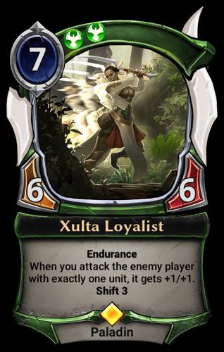 Xulta Loyalist card