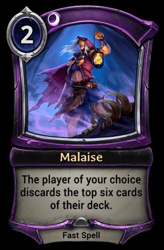 Malaise card