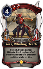Aika, Whirling Death