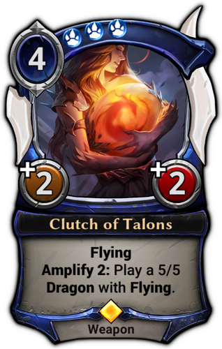 Clutch of Talons card