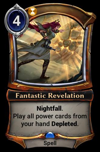 Fantastic Revelation card