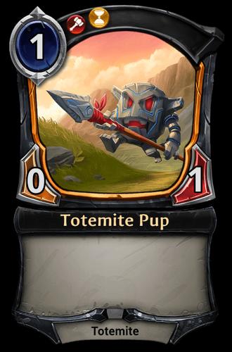 Totemite Pup card