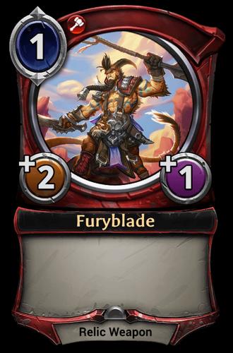 Furyblade card