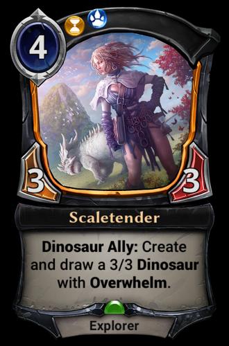 Scaletender card