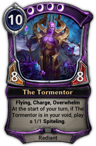 The Tormentor card