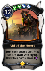 Aid of the Hooru