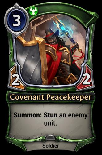 Covenant Peacekeeper card