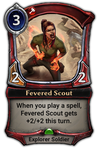 Fevered Scout card