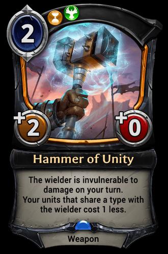 Hammer of Unity card