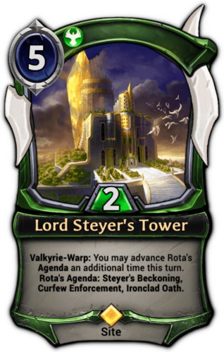 Lord Steyer's Tower card