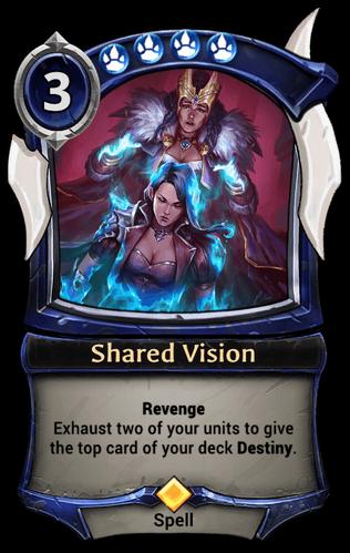 Shared Vision card