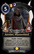 Azindel, Mastermind