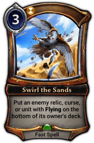 Swirl the Sands card