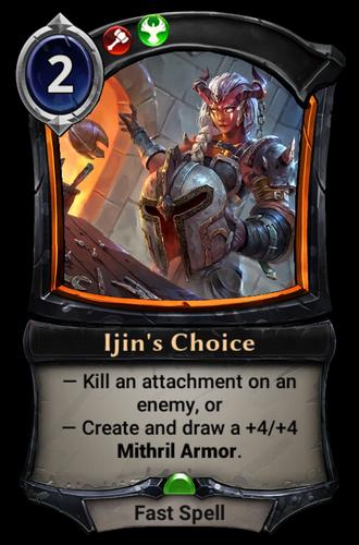 Ijin's Choice card