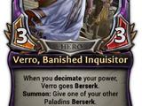 Verro, Banished Inquisitor
