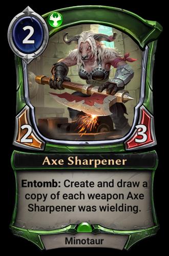 Axe Sharpener card