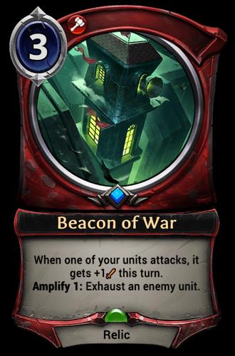 Beacon of War card