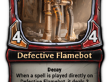 Defective Flamebot
