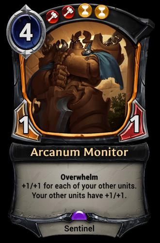 Arcanum Monitor card