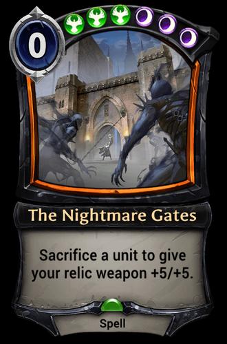 The Nightmare Gates card