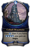 Cobalt Waystone