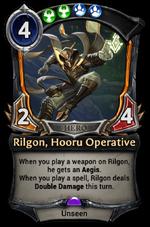 Rilgon, Hooru Operative