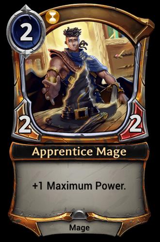 Apprentice Mage card
