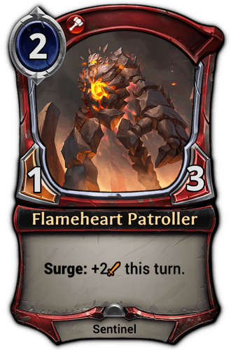 Flameheart Patroller card