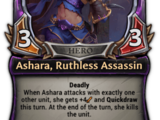 Ashara, Ruthless Assassin