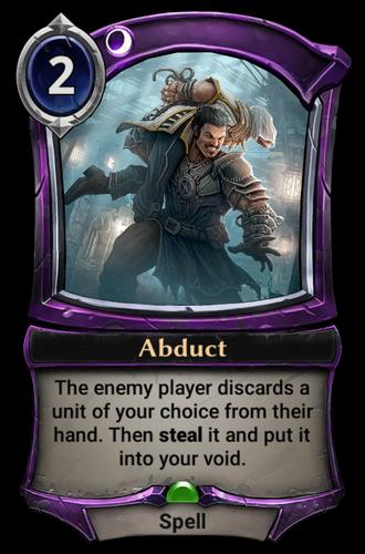 Abduct card