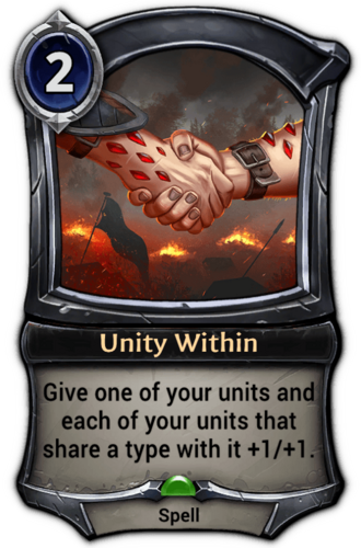 Unity Within card