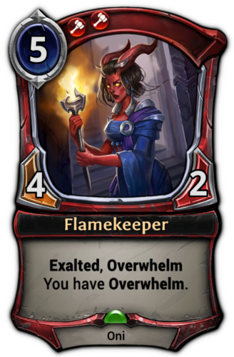 Flamekeeper card
