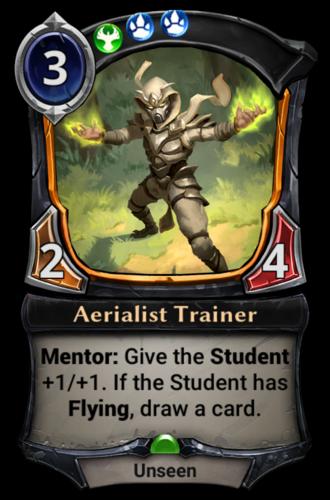 Aerialist Trainer card