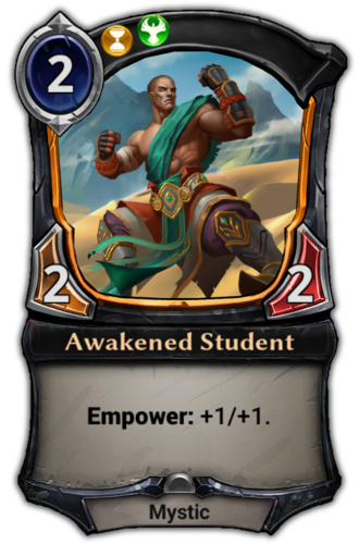 Awakened Student card