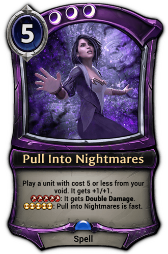 Pull Into Nightmares card
