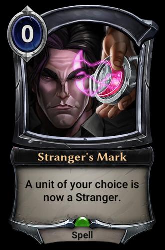 Stranger's Mark card