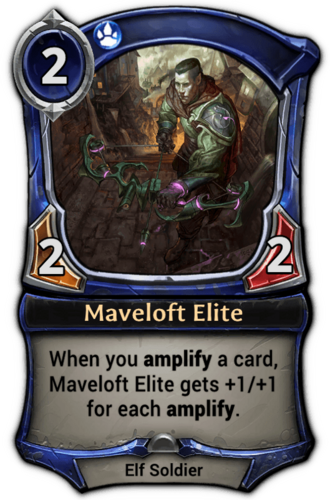 Maveloft Elite card