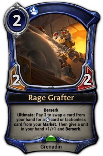 Rage Grafter card