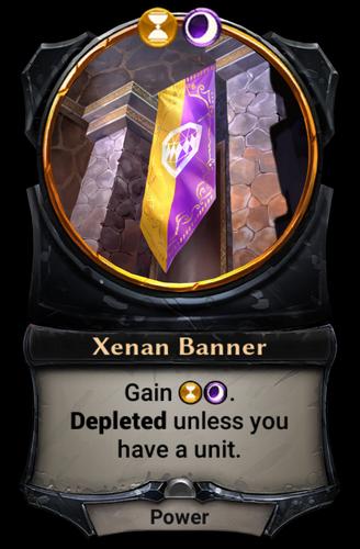 Xenan Banner card
