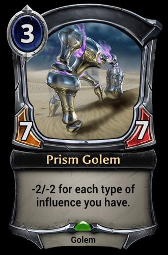 Prism Golem card