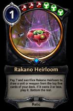 Rakano Heirloom