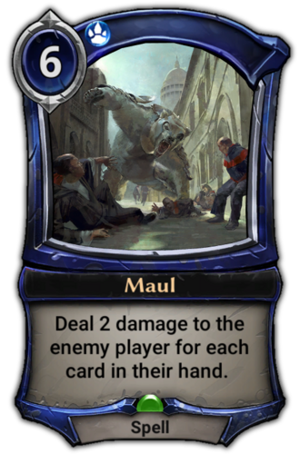 Maul card