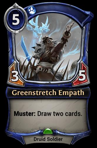 Greenstretch Empath card