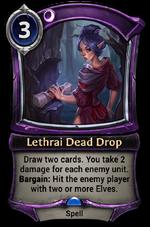 Lethrai Dead Drop