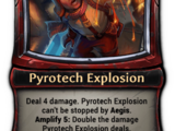 Pyrotech Explosion