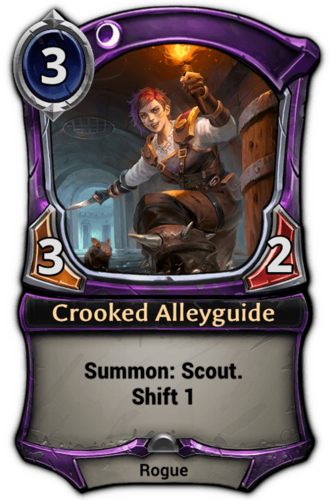 Crooked Alleyguide card