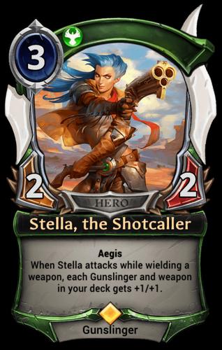 Stella, the Shotcaller card