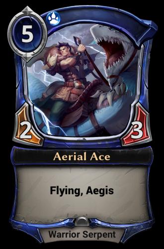 Aerial Ace card